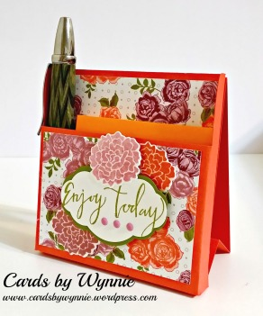 bouquet note holder w