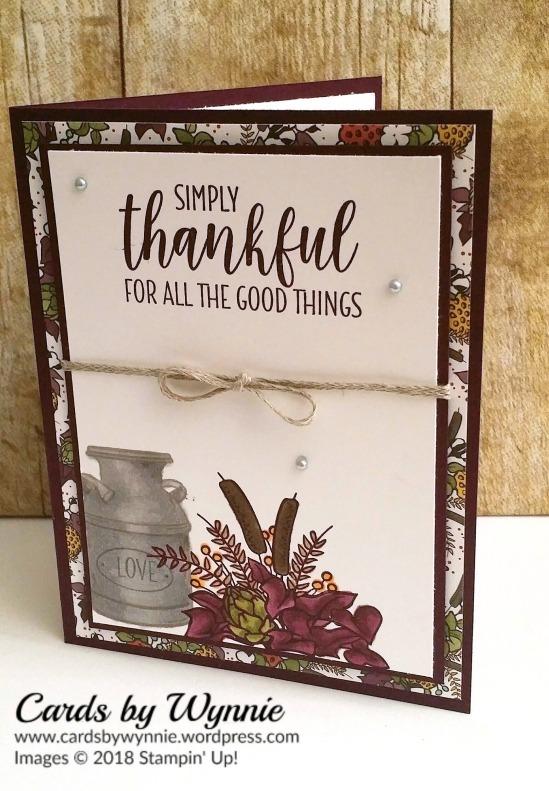 Thankful w