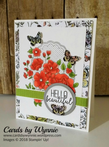 50d3d07294c1b1 I started with a card base of Whisper White cut 4-1 4″ x 11″